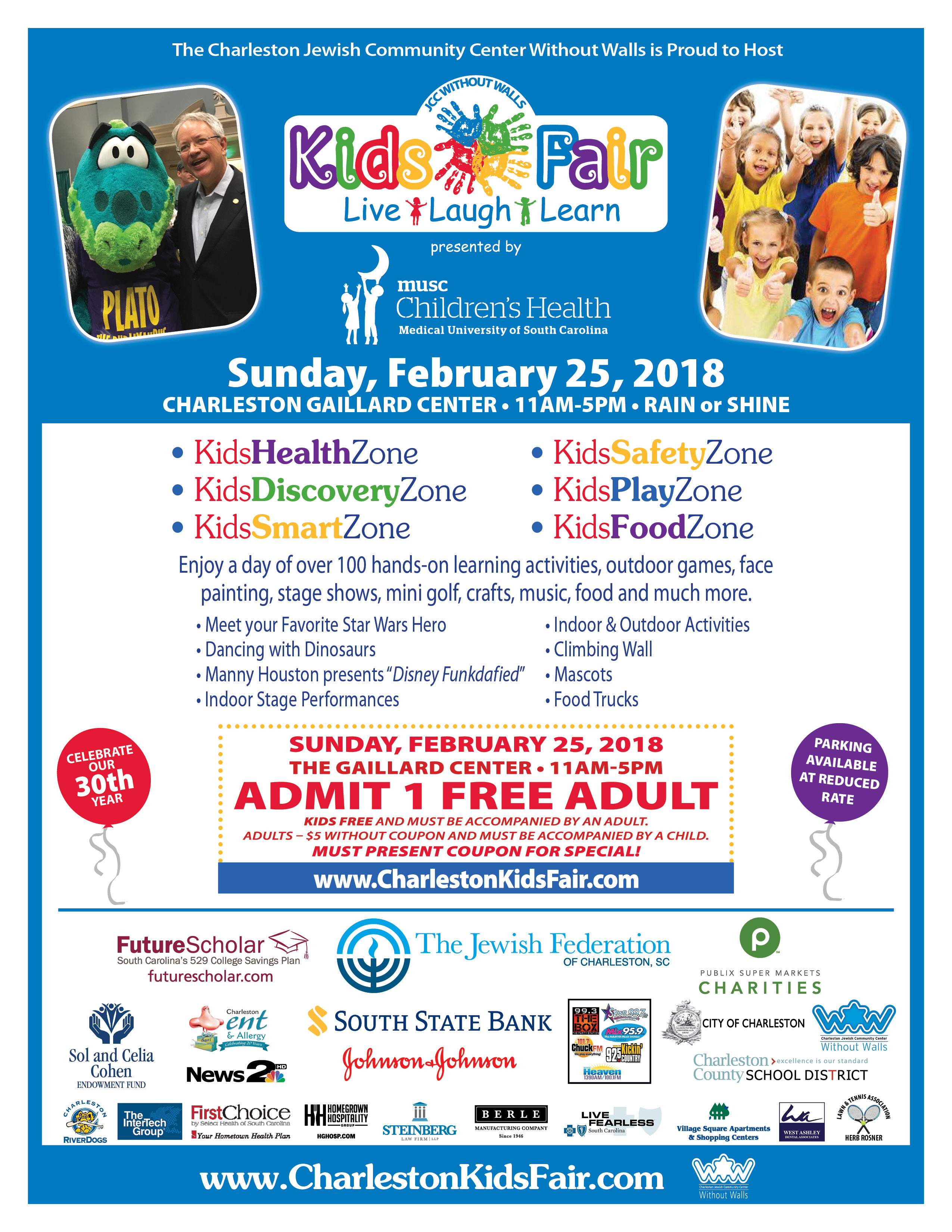 Coupon Flyer | Kids Fair Coupon Flyer 101 7 Chuck Fm101 7 Chuck Fm